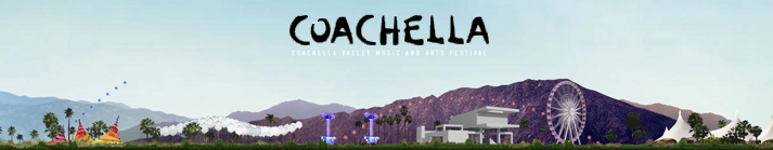Coachella Music Festival – Star-Helicopters
